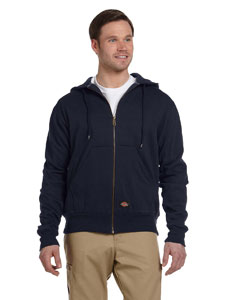 TW382 Dickies Men's 470 Gram Thermal-Lined Fleece Hooded Jacket
