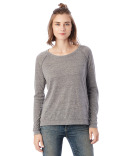 01919E1 Alternative Ladies' Locker Room Eco-Jersey Pullover