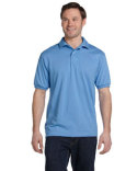 054 Hanes Men's 5.2 oz., 50/50 EcoSmart® Jersey Knit Polo