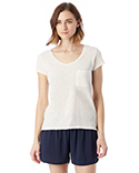 12421J Alternative Ladies' Washed Slub Favorite T-Shirt
