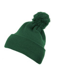 1501P Yupoong Cuffed Knit Beanie with Pom Pom Hat