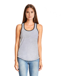 1534 Next Level Ladies' Ideal Colorblock Racerback Tank