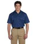 1574T Dickies Unisex Tall Short-Sleeve Work Shirt