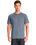 2050 Next Level Men's Mock Twist Short-Sleeve Raglan T-Shirt