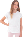 2201ORW American Apparel Youth Organic Fine Jersey Short-Sleeve T-Shirt