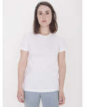 23215OW American Apparel Ladies' Organic Fine Jersey Classic T-Shirt
