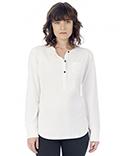 2887P1 Alternative Ladies' Organic Pima Cotton Donna Henley