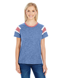3011 Augusta Sportswear Ladies' Fanatic Short-Sleeve T-Shirt