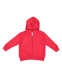 3346 Rabbit Skins Toddler Zip Fleece Hoodie