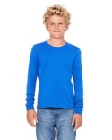 3501Y Bella + Canvas Youth Jersey Long-Sleeve T-Shirt