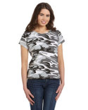 3665 Code Five Ladies' Camo T-Shirt