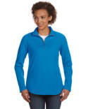 3764 LAT Ladies' Quarter-Zip French Terry Pullover