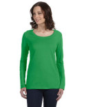 399 Anvil Ladies' Featherweight Long-Sleeve Scoop T-Shirt