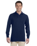 437ML Jerzees Adult SpotShield™ Long-Sleeve Jersey Polo