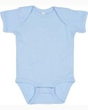 4400 Rabbit Skins Infant Baby Rib Bodysuit