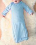 4406 Rabbit Skins Infant Baby Rib Layette Sleeper