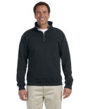 4528 Jerzees Adult 9.5 oz. Super Sweats® NuBlend® Fleece Quarter-Zip Pullover