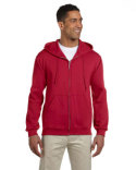 4999 Jerzees Adult 9.5 oz., Super Sweats® NuBlend® Fleece Full-Zip Hood