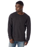 5065BT Alternative Men's Reversible B-Side Vintage French Terry Crewneck
