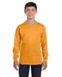 5546 Hanes Youth 6 oz. Authentic-T Long-Sleeve T-Shirt