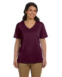 5780 Hanes Ladies' 5.2 oz. Tagless® V-Neck T-Shirt