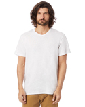 6084S Alternative Adult Weathered Slub V-Neck T-Shirt