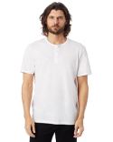6086S Alternative Adult Weathered Slub Henley T-Shirt