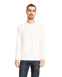 6411 Next Level Unisex Sueded Long-Sleeve Crew