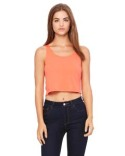 6680 Bella + Canvas Ladies' Poly-Cotton Crop Tank
