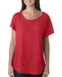 6760 Next Level Ladies' Triblend Dolman