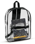 7010 Liberty Bags Clear Backpack