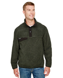 7352 Dri Duck Men's Denali Quarter-Zip Fleece Jacket
