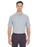 7510 UltraClub Men's Platinum Honeycomb Piqué Polo