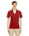 75110 Ash City - Extreme Ladies' Eperformance™ Parallel Snag Protection Polo with Piping