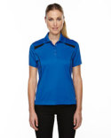 75112 Ash City - Extreme Ladies' Eperformance™' Tempo Recycled Polyester Performance Textured Polo