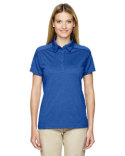 75117 Ash City - Extreme Ladies' Eperformance™ Fluid Mélange Polo