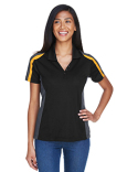 75119 Ash City - Extreme Ladies' Eperformance™ Strike Colorblock Snag Protection Polo