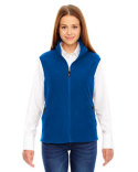 78173 Ash City - North End Ladies' Voyage Fleece Vest