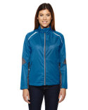 78654 Ash City - North End Ladies' Dynamo Three-Layer Lightweight Bonded Performance Hybrid Jacket