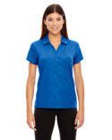 78659 Ash City - North End Ladies' Maze Performance Stretch Embossed Print Polo