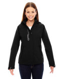 78665 Ash City - North End Ladies' Axis Soft Shell Jacket with Print Graphic Accents