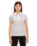 78676 Ash City - North End Ladies' Symmetry UTK cool?logik™ Coffee Performance Polo