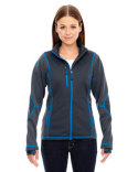 78681 Ash City - North End Ladies' Pulse Textured Bonded Fleece Jacket with Print