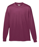 788 Augusta Sportswear Adult Wicking Long-Sleeve T-Shirt