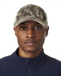 8114 UltraClub Adult Classic Cut Brushed Cotton Twill Unstructured Trucker Cap