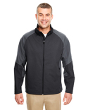 8275 UltraClub Adult Two-Tone Soft Shell Jacket