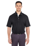 8325 UltraClub Men's Platinum Performance Birdseye Polo with TempControl Technology