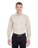 8340 UltraClub Men's Wrinkle-Resistant End-on-End