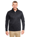 8440 UltraClub Adult Cool & Dry Sport Quarter-Zip Pullover Fleece