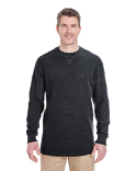 8455 UltraClub Adult Mini Thermal Crewneck
